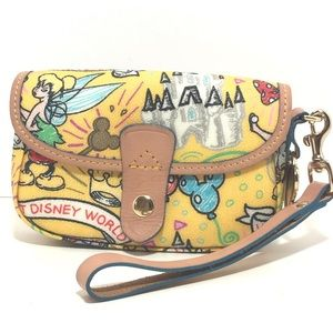 Dooney and Bourke Disney parks wristlet